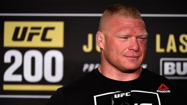 Brock Lesnar UFC 200 presser
