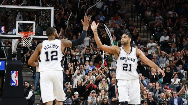 NBA Power Rankings: Spurs take top spot from Warriors - IMAGE