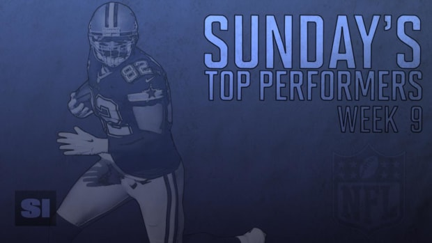 Sunday's Top Performers: Week 9 IMAGE