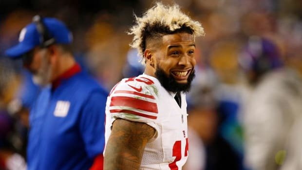 Odell Beckham Jr. fined for criticizing official--IMAGE