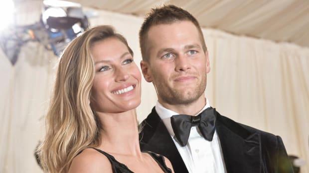 Tom Brady's wife doesn't want him talking politics - IMAGE