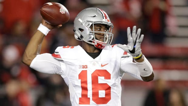 Ohio State's stars talk about big win over Wisconsin -- IMAGE