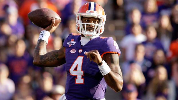 Clemson QB Deshaun Watson entering 2017 NFL draft - IMAGE