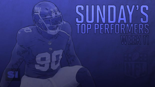 Sunday's Top Performers: Week 11 IMAGE