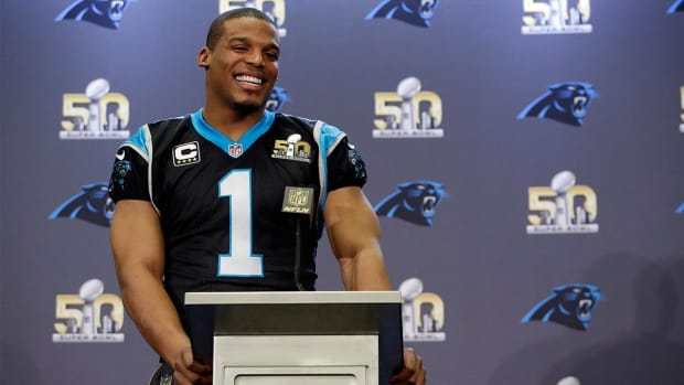 Watch: Cam Newton predicted Panthers' Super Bowl appearance before season started  -- IMAGE