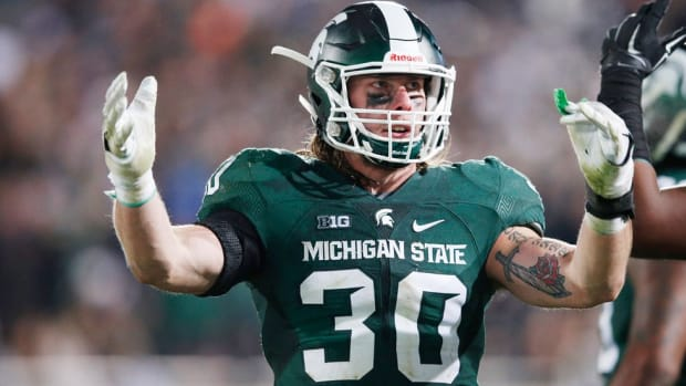 For Riley Bullough and the rest of his family, the Michigan State-Notre Dame rivalry is a longstanding family affair