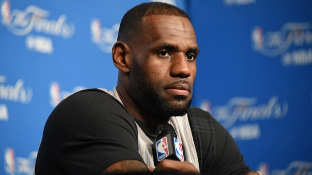 LeBron James says game three is a must win - IMAGE