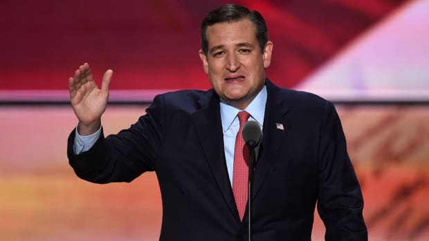 Senator Ted Cruz gives LeBron a shout out at RNC--IMAGE