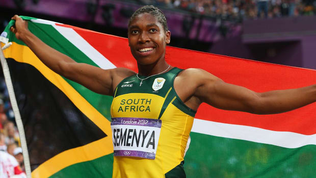 Caster Semenya has her eyes on 800m gold in Rio -- IMAGE
