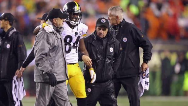 Adam 'Pacman' Jones: Antonio Brown was not hurt, he was faking - IMAGE