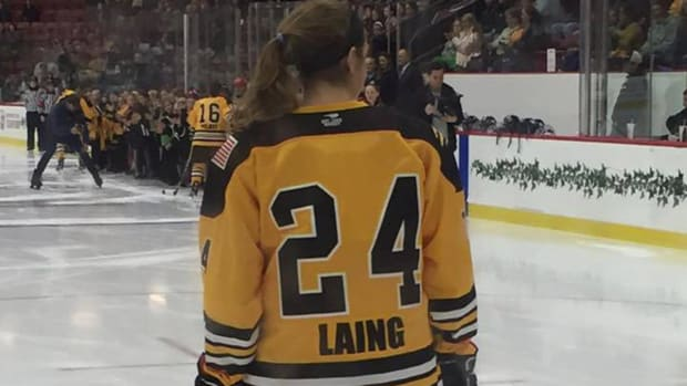 Denna Laing sustained 'significant spinal injury' in Outdoor Classic IMAGE