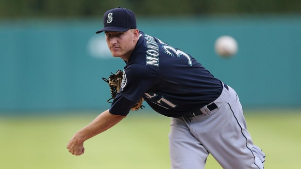 Cubs trade for P Mike Montgomery from Mariners --IMAGE