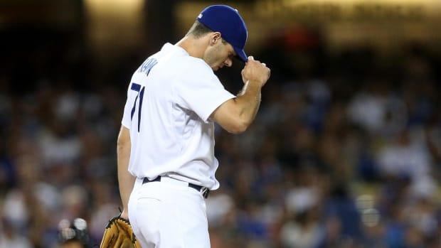 Dodgers' Josh Ravin suspended 80 games after positive PED test -- IMAGE