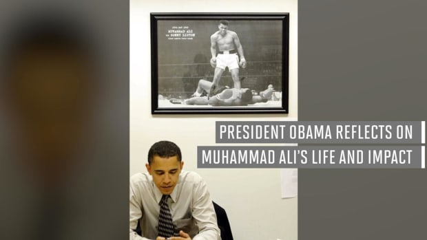 President Obama reflects upon Muhammad Ali's life and impact --IMAGE