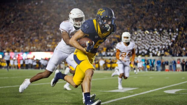 Once told he wouldn't play in the Pac-12, Cal's Chad Hansen has gone from walk-on to one of the nation's top receivers