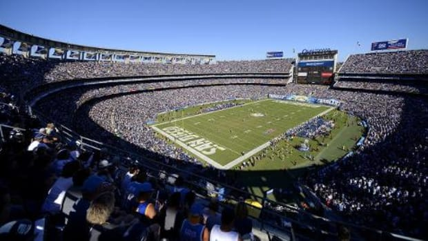 Chargers, Rams, Raiders apply to relocate to Los Angeles--IMAGE