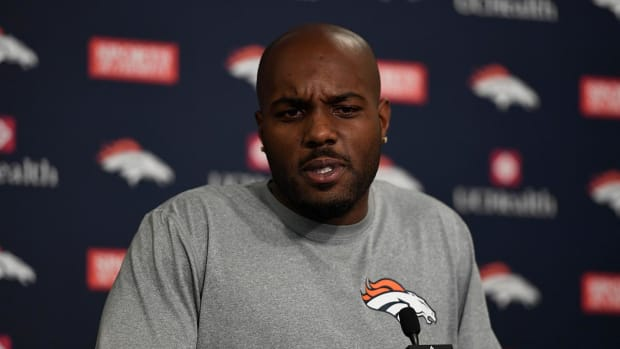 NFL fines Broncos' Darian Stewart for hit to Panthers QB Cam Newton - IMAGE