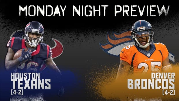 Monday Night preview: Texans vs. Broncos IMAGE