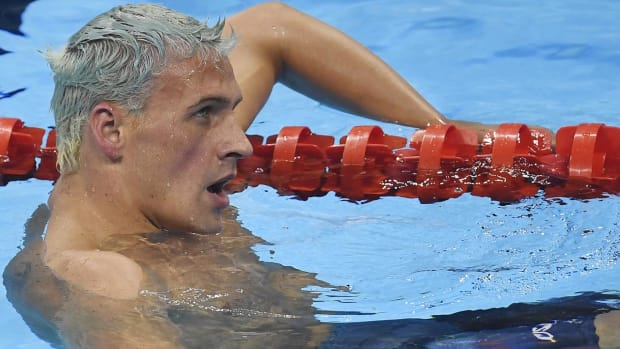 USOC confirms that Ryan Lochte and three others were robbed at gunpoint--IMAGE