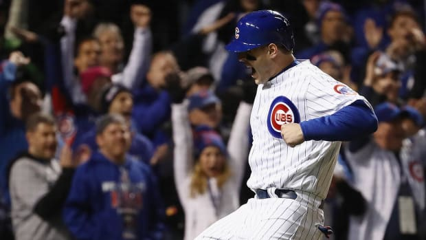 Cubs stay alive, send series back to Cleveland--IMAGE