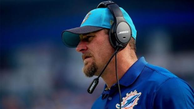 Peter King: Dolphins interim head coach Dan Campbell won't return--IMAGE