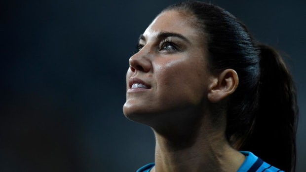 Hope Solo says suspension is retaliation for equal pay fight - IMAGE