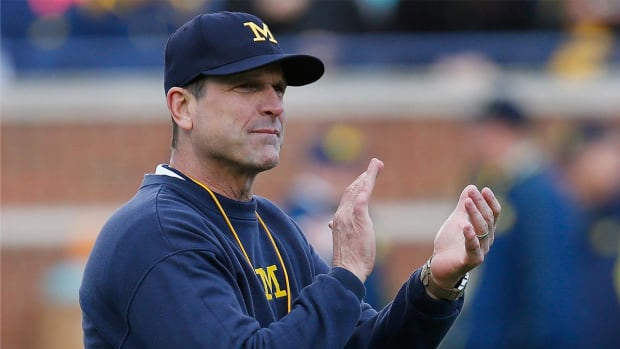 Michigan's Jim Harbaugh leads college football coaches in salary - IMAGE