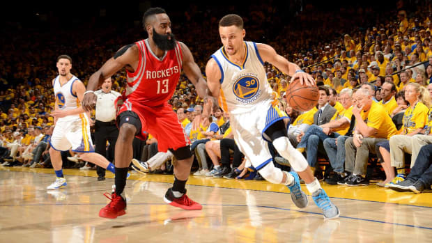 Stephen Curry (ankle) questionable for Game 2 vs. Rockets -- IMAGE