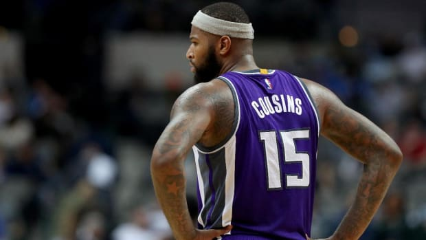 DeMarcus Cousins unleashes profanities at reporter--IMAGE