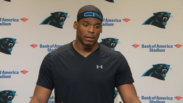 Cam Newton addresses unrest in Charlotte after police shooting IMAGE