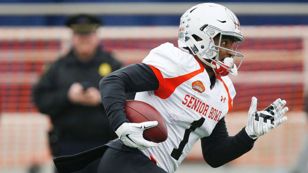 Day 2 of Senior Bowl: Wide Receivers IMAGE