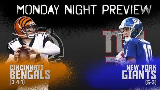 Monday night preview: Bengals vs. Giants IMAGE