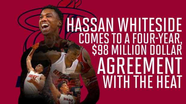 NBA free agency roundup: Whiteside stays in Miami, Lin coming back to NYC -- IMAGE