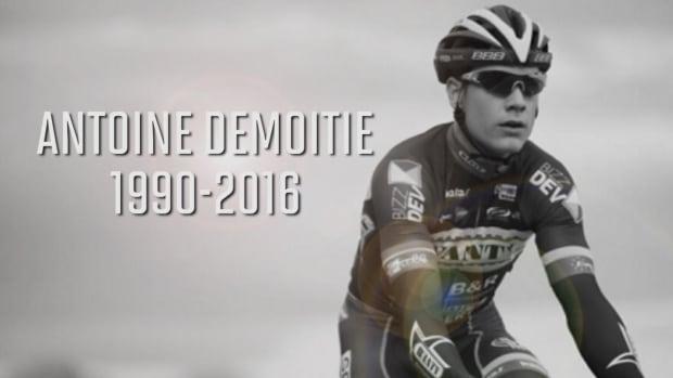 Belgian cyclist Antoine Demoitie dies following crash -- IMAGE