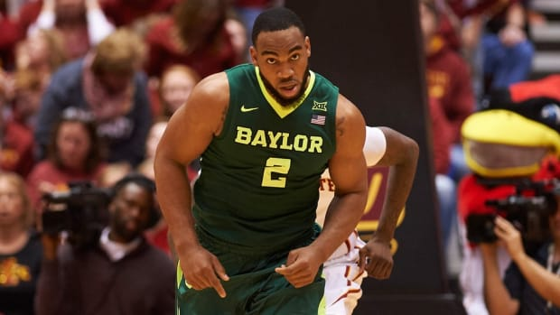 Glass Ceiling: Rico Gathers's rebounding talent will be enough to get him to the NBA ... or at least to the NFL