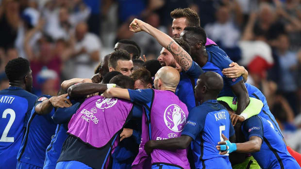 France headed to Euro final to face Portugal -- IMAGE