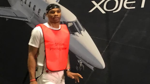 Was Russell Westbrook trolling Kevin Durant with his outfit? - IMAGE