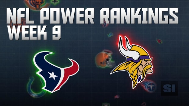 NFL Power Rankings: Week 9 IMAGE