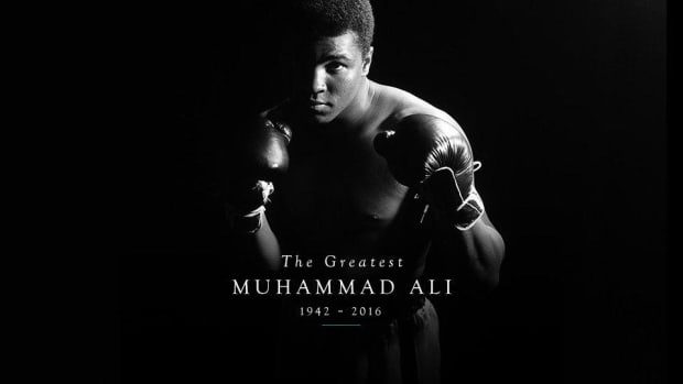 Current and former athletes pay their respects to Muhammad Ali --IMAGE