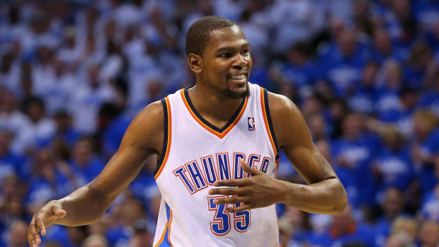 Report: Warriors heavy favorites if Kevin Durant leaves Thunder--IMAGE
