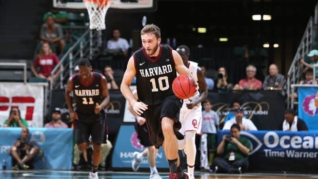 After three injury-plagued seasons on the sidelines, Patrick Steeves emerges as sixth man for Harvard