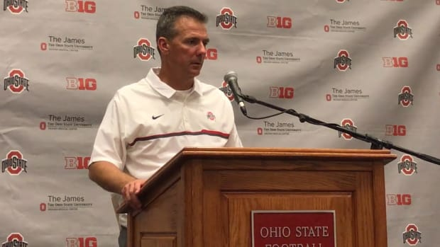 Urban Meyer discusses Ohio State's 24-20 win over Northwestern -- IMG