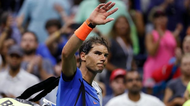 Rafael Nadal upset in 4th round of US Open - IMAGE