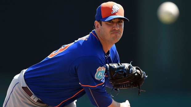 Mets P Matt Harvey could miss opening day - IMAGE