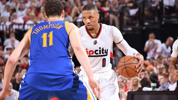 Warriors-Trail Blazers Game 4 preview: Curry making progress -- IMAGE