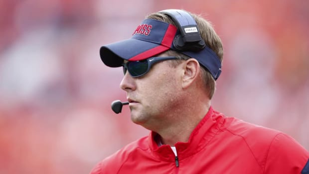 Hugh Freeze recently received letter from Laremy Tunsil - IMAGE