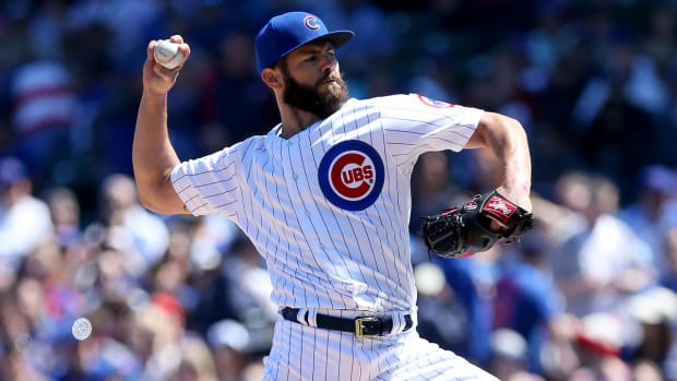 Cubs' Jake Arrieta calls PED accusations 'flattering'--IMAGE