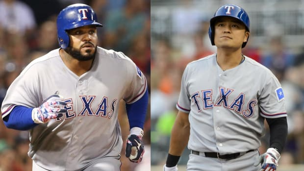 Rangers' Fielder may need neck surgery; Choo also put on DL--IMAGE