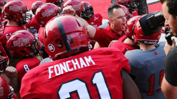 My quest to hang half a 100: coaching Arkansas State offense in spring game was harder than it appeared