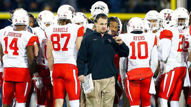 Campus Rush Podcast: Previewing Week 1 with Houston's Tom Herman on Oklahoma, Big 12 expansion